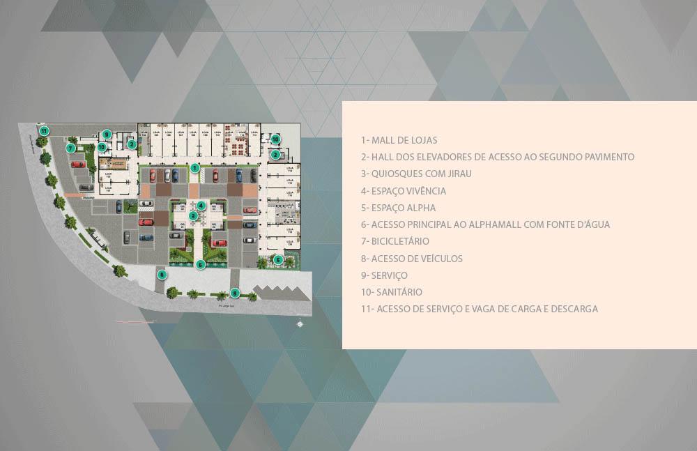 RJ Imóveis | Alpha Mall - Empreendimento Comercial