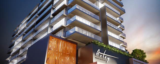 RJ Imóveis | Artsy Leblon Residence, Apartamentos 2 quartos all Suítes com Serviços à venda no Leblon, Av. Afrânio de Melo Franco, Zona Sul - RJ