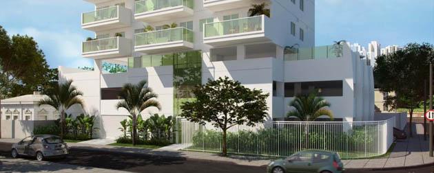 RJ Imóveis | Barão de Mauá Residence, Apartamentos 2 Quartos e Coberturas à Venda no Méier, Rua Paulo Silva Araújo, Rio de Janeiro - RJ.