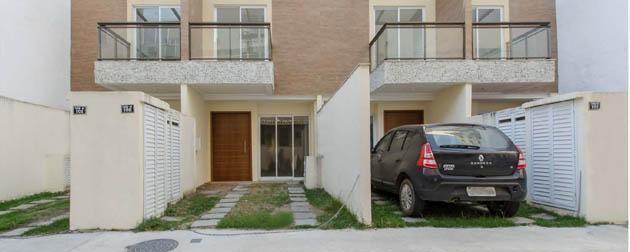 RJ Imóveis | Vila Barão de Pirassinunga, Casas de vila 3 quartos sendo 3 suíte com Varanda e piscina na Tijuca, Zona Norte - RJ.