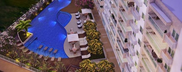 RJ Imóveis | Bourgogne Résidences Gourmet, Apartamentos de 3 e 2 quartos e Apartamentos dúplex de 2 quartos, All Suites à Venda na Freguesia, Rio de Janeiro - RJ.