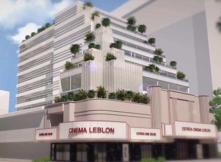 RJ Imóveis   Cine Leblon - Empreendimento Comercial