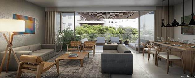 Apartamentos 3 quartos sendo duas suítes a venda no Leblon, Rua Humberto Campos, Zona Sul, Rio de Janeiro - RJ.