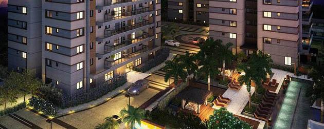 Apartamentos 4 quartos a venda no Recreio dos bandeirantes, unidades com duas vagas de garagem na Avenida Tim Maia. Rio de Janeiro - RJ.