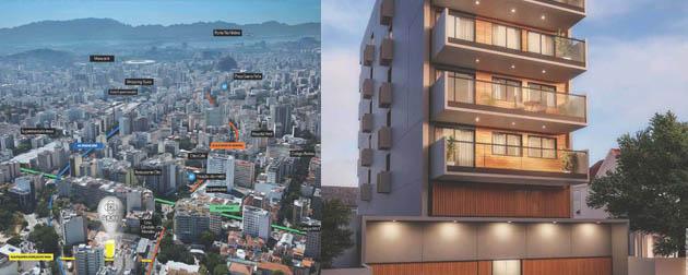 RJ Imóveis | Épico Residencial, Apartamentos de 3 e 2 quartos na Tijuca, segurança e lazer completo. RJ