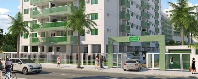 Esmeralda Clube Residencial  Apartamentos 4, 3 e 2 quartos à Venda na Rua Oswaldo Lussac, Taquara, Rio de Janeiro - RJ.