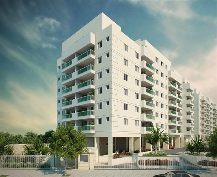 da3545c38f Imagens e Plantas Espaco VIP Residencial - Apartamentos 3 e 2 Quartos