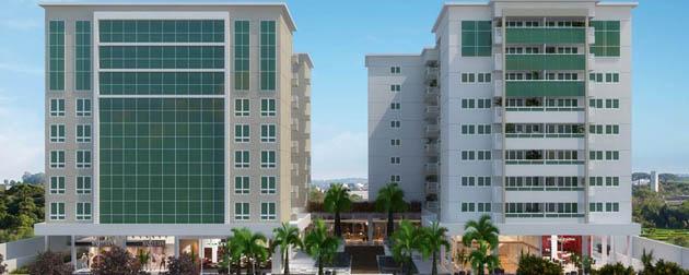 RJ Imóveis | Faces Office Mall e Residencial, Apartamentos, Lojas e Salas Comerciais à venda na Penha, Rua Nicarágua, Zona Oeste - RJ