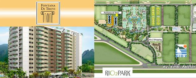 Apartamentos 3 quartos à venda no Condomínio Rio 2 Park, Barra da Tijuca, Rio de Janeiro - RJ