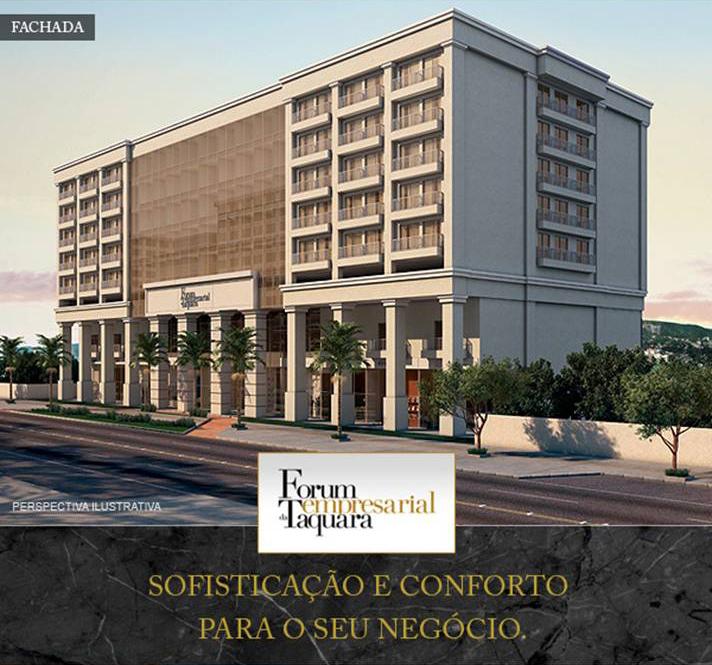 Vendemos Imóveis RJ | Fórum Empresarial da Taquara, Fórum Empresarial da Taquara Salas Comerciais (Offices) na Taquara