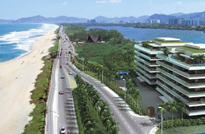 RIO IMÓVEIS RJ - Grand Hyatt Residencial - Residencial com Serviços à venda na Praia da Barra da Tijuca. Apartamentos 2 Quartos, exclusivas 96 unidades na Av Lúcio Costa.