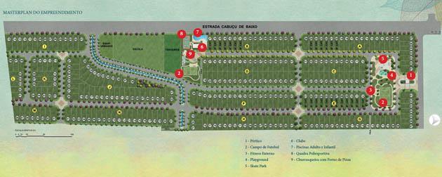 RJ Imóveis | Grand Park Clube Residencial, Lotes / Terrenos residenciais à venda em Campo Grande, Estrada do Cabuçu de baixo, Rio de Janeiro - RJ
