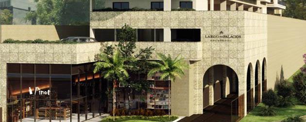 Vendemos Imóveis RJ | Largo dos Palácios Residencial, Apartamentos 4, 3 e 2 Quartos com dependência completa à venda em Botafogo, Rua São Clemente, Rio de Janeiro - RJ.