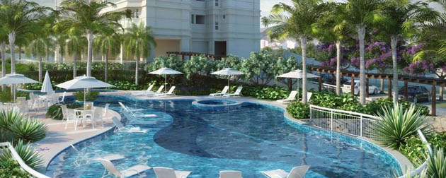 Vendemos Imóveis RJ | Le Quartier Residences, Apartamentos 2 e 3 quartos a venda no Recreio dos Bandeirantes, Avenida das Américas, Zona Oeste, Rio de Janeiro - RJ.