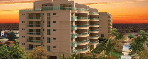 RJ Imóveis   Les Résidences de Monaco, Apartamentos 4 Quartos All Suites e sala com vista para o mar à Venda na Praia da Barra da Tijuca, Avenida Lúcio Costa, Rio de Janeiro - RJ.