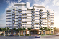 RJ Imóveis | Apartamentos 3 e 2 Quartos à Venda na Freguesia - Jacarepaguá, Estr. do Capenha com a Av. Geremário Dantas, Zona Oeste - RJ