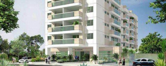 RJ Imóveis   Lotus Residence, Apartamentos 2 e 3 suítes com vaga na garagem, lazer completo e segurança 24h em Campo Grande