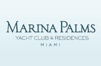 RJ Imóveis | Marina Palms Yacht Club e Residence - Amplos e Luxuosos Apartamentos 3 e 2 Quartos All Suítes à venda em Miami na Flórida - USA.