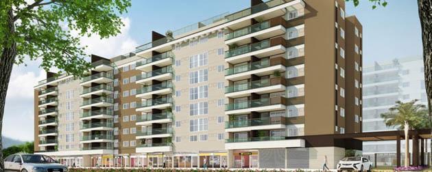 Apartamentos 3 e 2 Quartos à venda no Pontal Oceânico próximo a Estrada do Pontal e a Avenida das Américas, Recreio dos Bandeirantes, Rio de Janeiro - RJ.