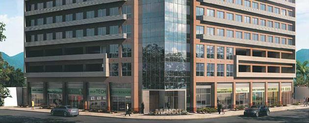 RJ Imóveis   Maxxi Business, Maxxi Business - Salas Comerciais na Freguesia, complexo comercial localizado na Estrada dos Três Rios.