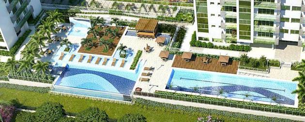 RJ Imóveis   Millenio Double Suítes, Apartamentos 2 Quartos Double Suítes à venda na Vila Olímpica e Paraolímpica do Rio de Janeiro, Ilha Pura, Barra da Tijuca - RJ