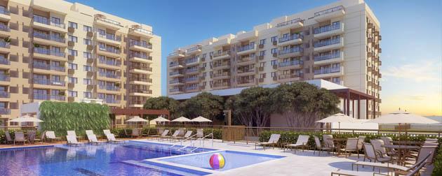 RJ Imóveis | Ocean Pontal Residence e Beach Place, Apartamentos 3 e 2 Quartos à venda no Pontal Oceânico próximo a Estrada do Pontal e a Avenida das Américas, Recreio dos Bandeirantes, Rio de Janeiro