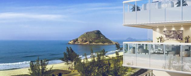 RIO TOWERS | Oceana Residence, Apartamentos com 3 Quartos em frente ao mar no Recreio dos Bandeirantes - Zona Oeste - RJ