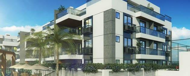 RJ Imóveis   Outside Authentic Residences, Apartamentos 4, 3 e 2 quartos a venda no Recreio dos bandeirantes, Rio de Janeiro - RJ.