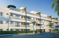 RIO IMÓVEIS RJ - Palms Recreio Style Residences - Apartamentos 4, 3 e 2 Quartos à venda no Recreio dos Bandeirantes, 9 blocos com 3 pavimentos contendo unidades garden e coberturas 4 e 3 quartos, Rio de Janeiro - RJ