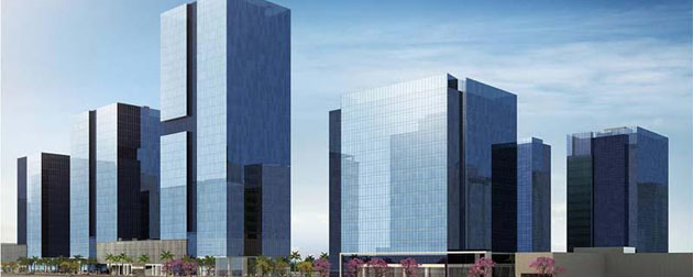 RJ Imóveis | Porto Atlantico Business Square, Complexo comercial e residencial com quatro torres corporativas com lajes de dois mil m², uma torre com salas comerciais, trinta e quatro lojas na praça de alimentação e Suítes Hoteleiras em dois Hotel, Ibis e Novotel no Porto Maravilha