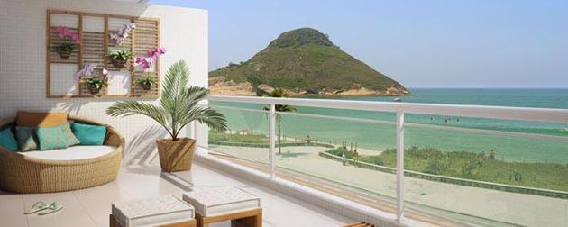 Vendemos Im�veis RJ | Reserva do Pontal Life Style, Apartamentos de 2 quartos e coberturas de at� de 3 quartos com bel�ssima vista do mar � venda no Recreio dos Bandeirantes, Rio de Janeiro - RJ.
