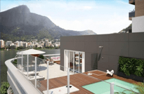 RJ Imóveis | Residencial Mader - Apartamentos de 4 Quartos à venda na Lagoa, Rua Epitácio Pessoa, Zona Sul do Rio de Janeiro - RJ