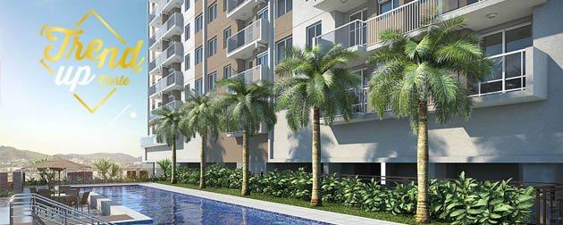 RJ Imóveis | Trend Up Norte, Apartamentos de 3, 2 e 1 quartos, lazer e segurança no Cachambi, Zona Norte - RJ.