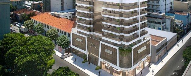 Apartamentos 3 quartos com dependência, vaga e lazer completo a venda em Botafogo.