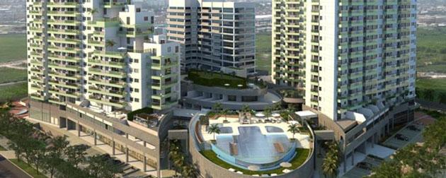 Apartamentos, Lojas, salas comerciais, lajes corporativas e residencial com serviços à venda na Barra da Tijuca