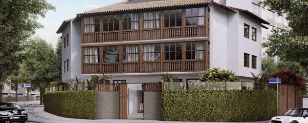 Apartamentos com 4 quartos e 4 suítes no Leblon, Av. Visc. de Albuquerque, Zona Sul, Rio de Janeiro - RJ.