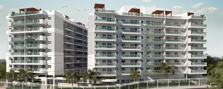 RJ Imóveis | Village Vert, Village Vert Freguesia - Apartamentos 2, 3 e 4 na Estrada do Bananal, Freguesia - Fmac Engenharia.