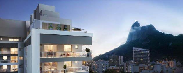 Apartamentos 3 e 2 Quartos à Venda em Botafogo, Rua Real Grandeza, Zona Sul - RJ